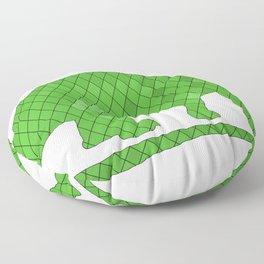 Brontosaurus Floor Pillow
