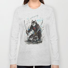 Year of the Dog...Samurai! Long Sleeve T-shirt