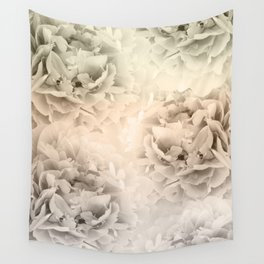 Sepia Peonies Dream #1 #floral #decor #art #society6 Wall Tapestry