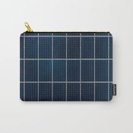 Solar Panel Pattern (Color) Carry-All Pouch