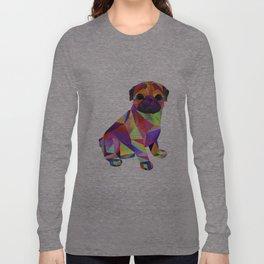 Pug Dog Molly Mops Long Sleeve T-shirt
