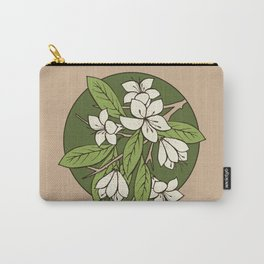Sakura Branch - Greenery Carry-All Pouch