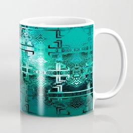 1001 Lights Pattern (emerald jungle) Coffee Mug