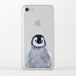 Little Penguin Clear iPhone Case