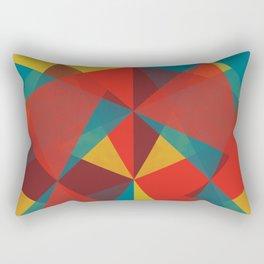 Triangular Pattern #4 Rectangular Pillow