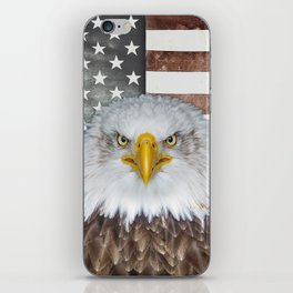 American Bald Eagle Patriot iPhone Skin