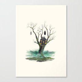 Treehouse of Horror Canvas Print