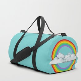 Robot suggests you let it shine. Duffle Bag