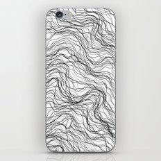 Black veins iPhone & iPod Skin