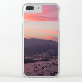 HONG KONG 05 Clear iPhone Case