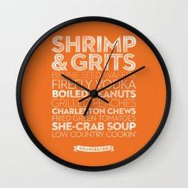 Charleston — Delicious City Prints Wall Clock