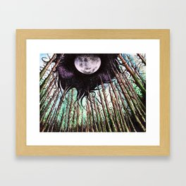 When Night Takes the Day Framed Art Print