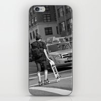 skate iPhone & iPod Skins featuring Skate by RaviusKiedn