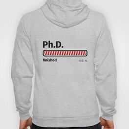 Ph.D. finished Hoody