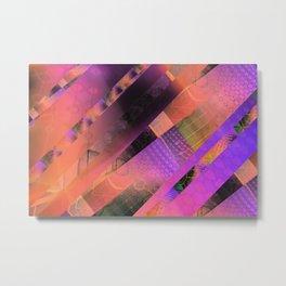 Free Floating Pattern Metal Print
