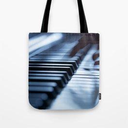 Musician play piano Tote Bag