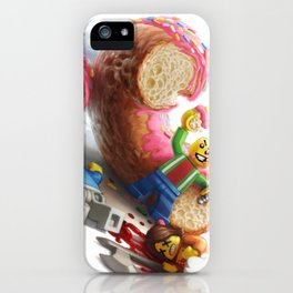 The Doughnut Murders iPhone Case