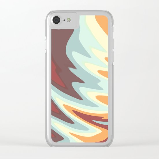 Abstract painting 155 Clear iPhone Case
