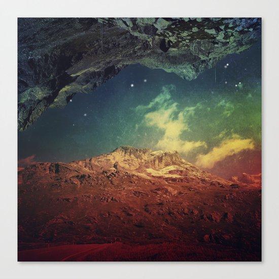 Dream Mountains Canvas Print