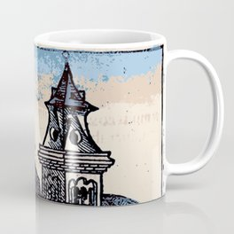 Monastery - Nuremberg Chronicle Coffee Mug
