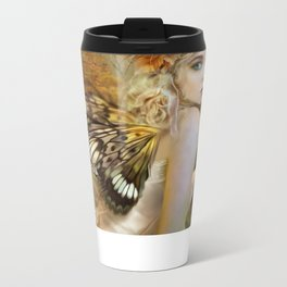 Touch of Gold - Fairy Metal Travel Mug