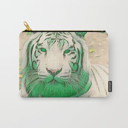 Green Tiger Carry-All Pouch