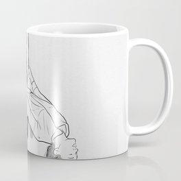 Running from it all. Coffee Mug