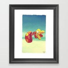 I confused things with their names, pt1 Framed Art Print
