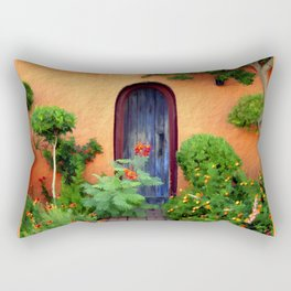 Garden Delights, Mesilla, NM Rectangular Pillow