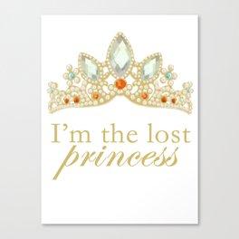 The Lost Princess Canvas Print