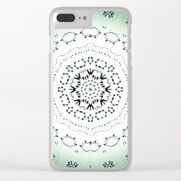 Mint Chocolate Chip Clear iPhone Case