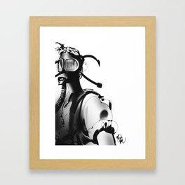 BnW9 Framed Art Print