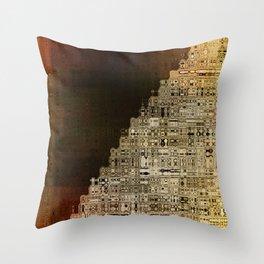 The Plateu Throw Pillow