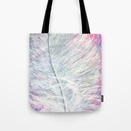 Angel Feather Painting Tote Bag