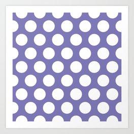 borage dots pattern Art Print