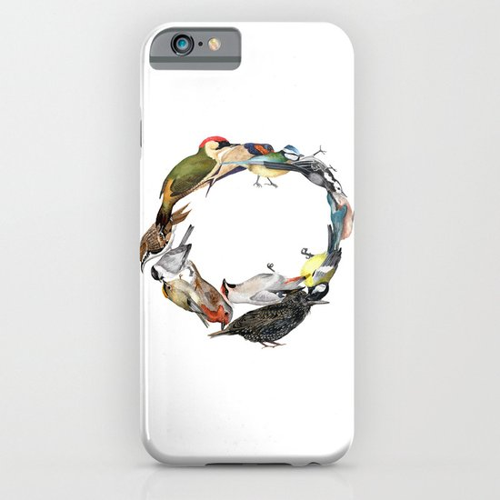 Bird Wreath iPhone & iPod Case