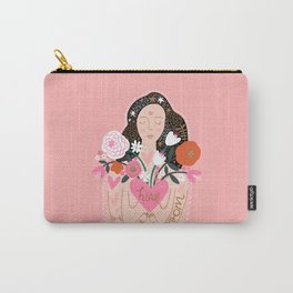 Let Your Heart Bloom Carry-All Pouch