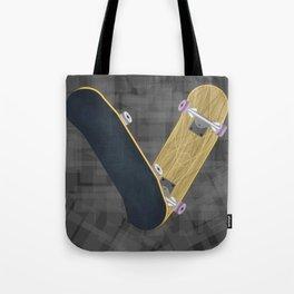 V for skateboard Umhängetasche