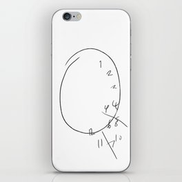 Will Graham - The Clock iPhone Skin