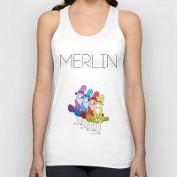 merlin Tank Tops featuring Merlin by MajorTom