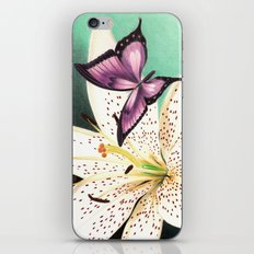 White Lily iPhone & iPod Skin