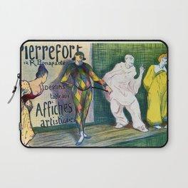 Pierrefort art gallery clowns Laptop Sleeve