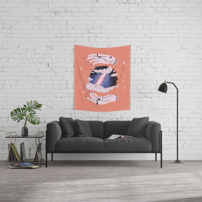 Hidden Space Wall Tapestry