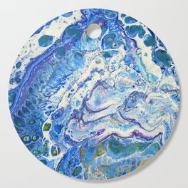 The Shallows Abstract Cutting Board