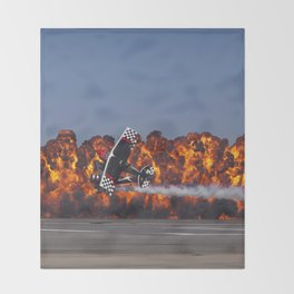 Flight and Flame Throw Blanket
