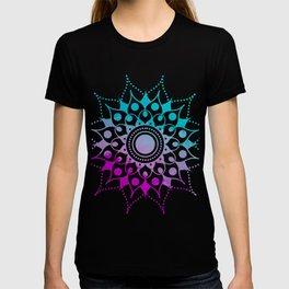 Mandala #2 (Purple Pink Turquiose) T-shirt