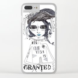 Your Wish Is Granted Clear iPhone Case