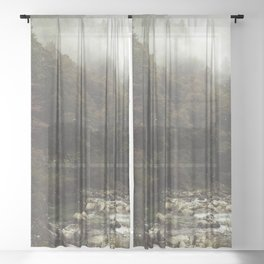 Outer Space Sheer Curtain