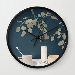 Eucaliptus I Wall Clock