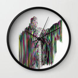 Apollo Glitched Wall Clock